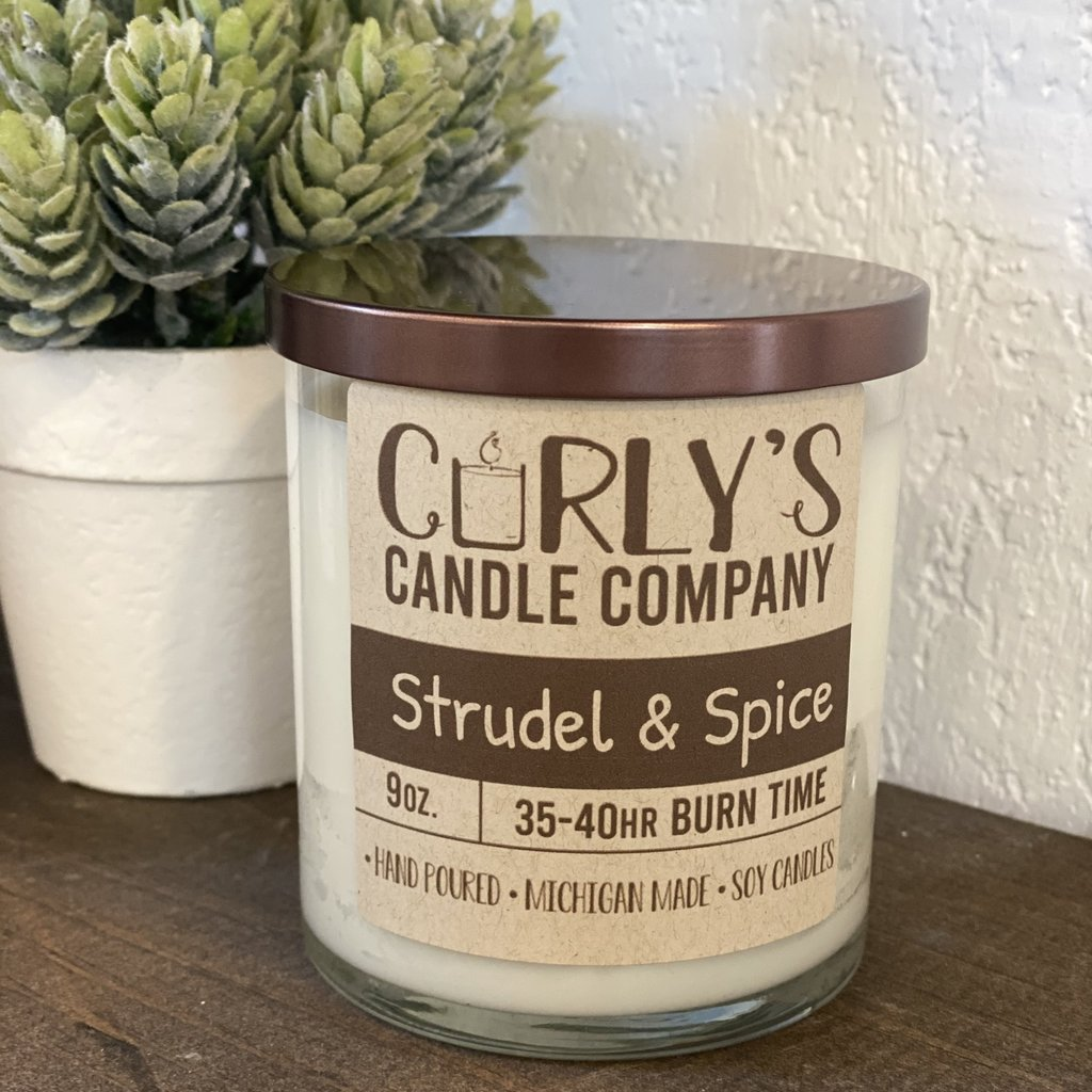 Curly's Candle Company Curly's Candle Co. - Strudel & Spice