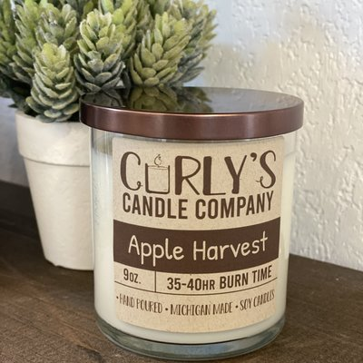 Curly's Candle Company Curly's Candle Co. - Apple Harvest