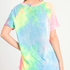 First Love Bright Neon Tie Dye Tee (S-L)