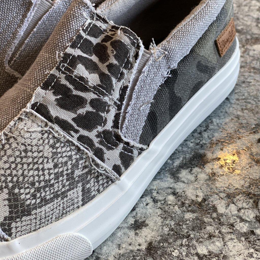 Blowfish Blowfish Maddox Gray Sneakers
