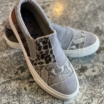 Blowfish Blowfish Maddox Gray Sneakers