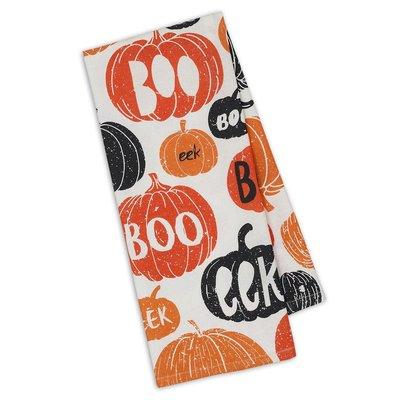 Design Imports Boo Halloween Dish Towel