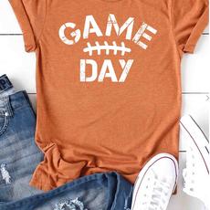 Kissed Apparel Game Day Football (2XL-3XL)