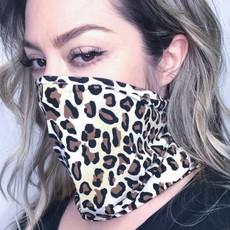 and the way Animal Print Neck Mask