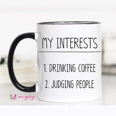 Mugsby My Interests Mug