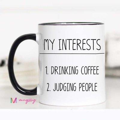 Mugsby My Interests Mug