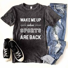Costa Threads Wake Me Up When Sports Are Back Tee (S-3XL)