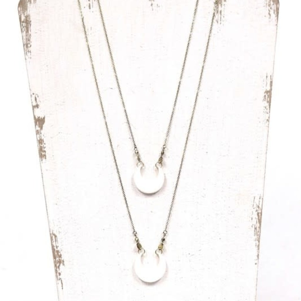 Panache Gold Shell Necklace