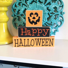 LTB Happy Halloween Stacked Blocks
