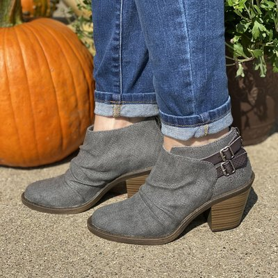 Blowfish Blowfish Leben Gray Ankle Boots