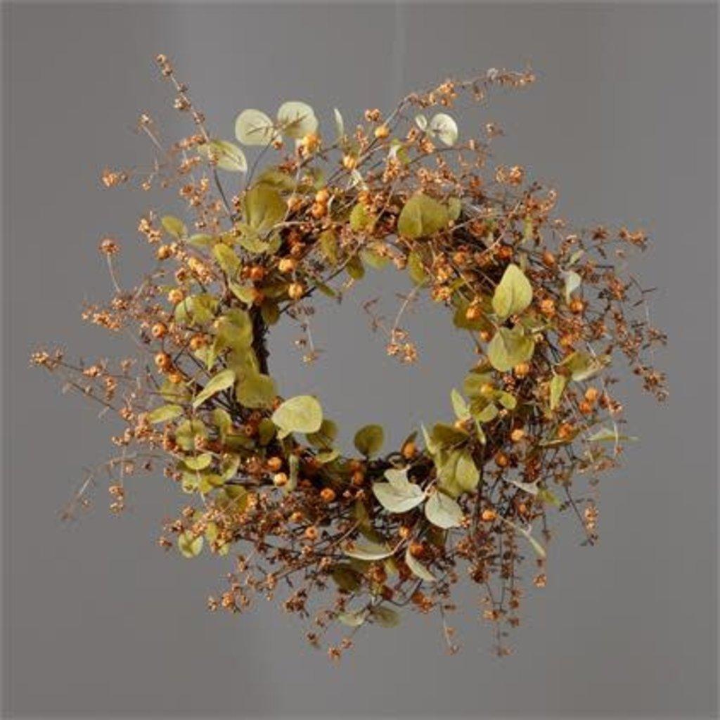 Audrey's Autumn Pumpkin Twig Wreath