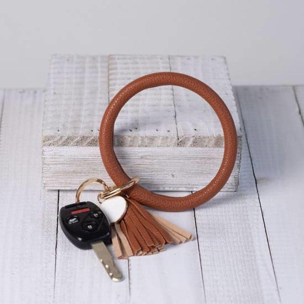 Lauren Lane Halo Bracelet Tassel Keychains (Multiple Options!!)
