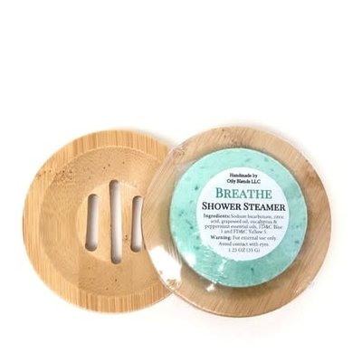 Oily Blends Wooden Shower Steamer Tray