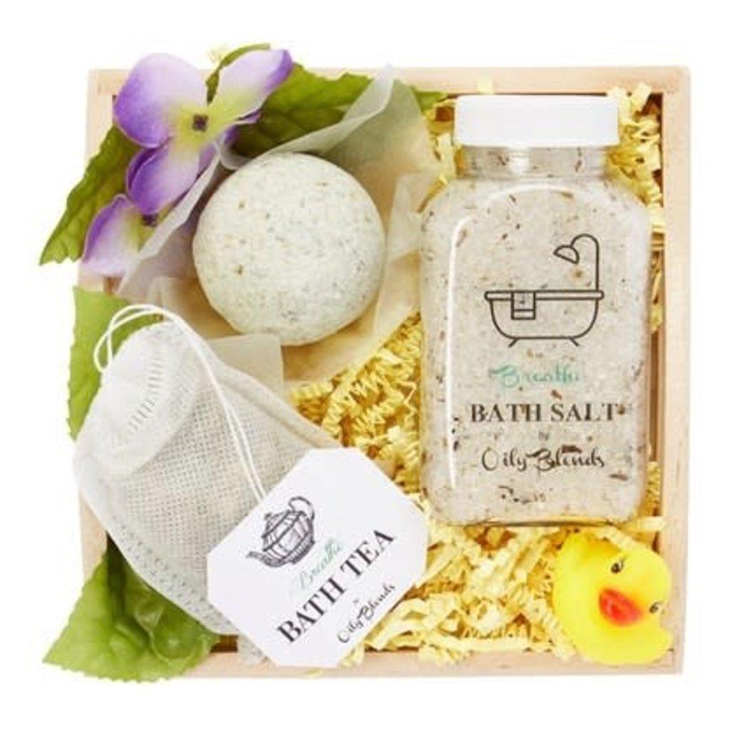 Oily Blends Handmade Bath Gift Set (3 Scents)