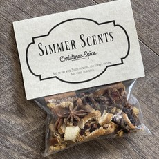 Oily Blends Simmer Scent Packs (6 Scents)