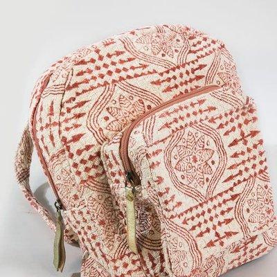 urbanista Rust Handmade Weave Arrows Backpack