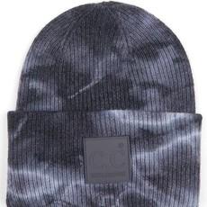 CC Gray & Black Tie Dye CC Beanie