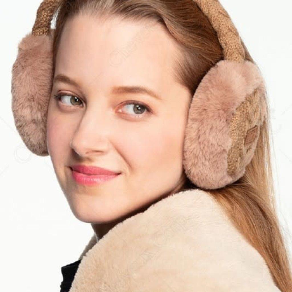 CC CC Faux Fur Earmuff Warmers (3 Colors)