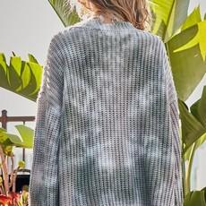 Mainstrip Olive Oversized V-Neck Sweater