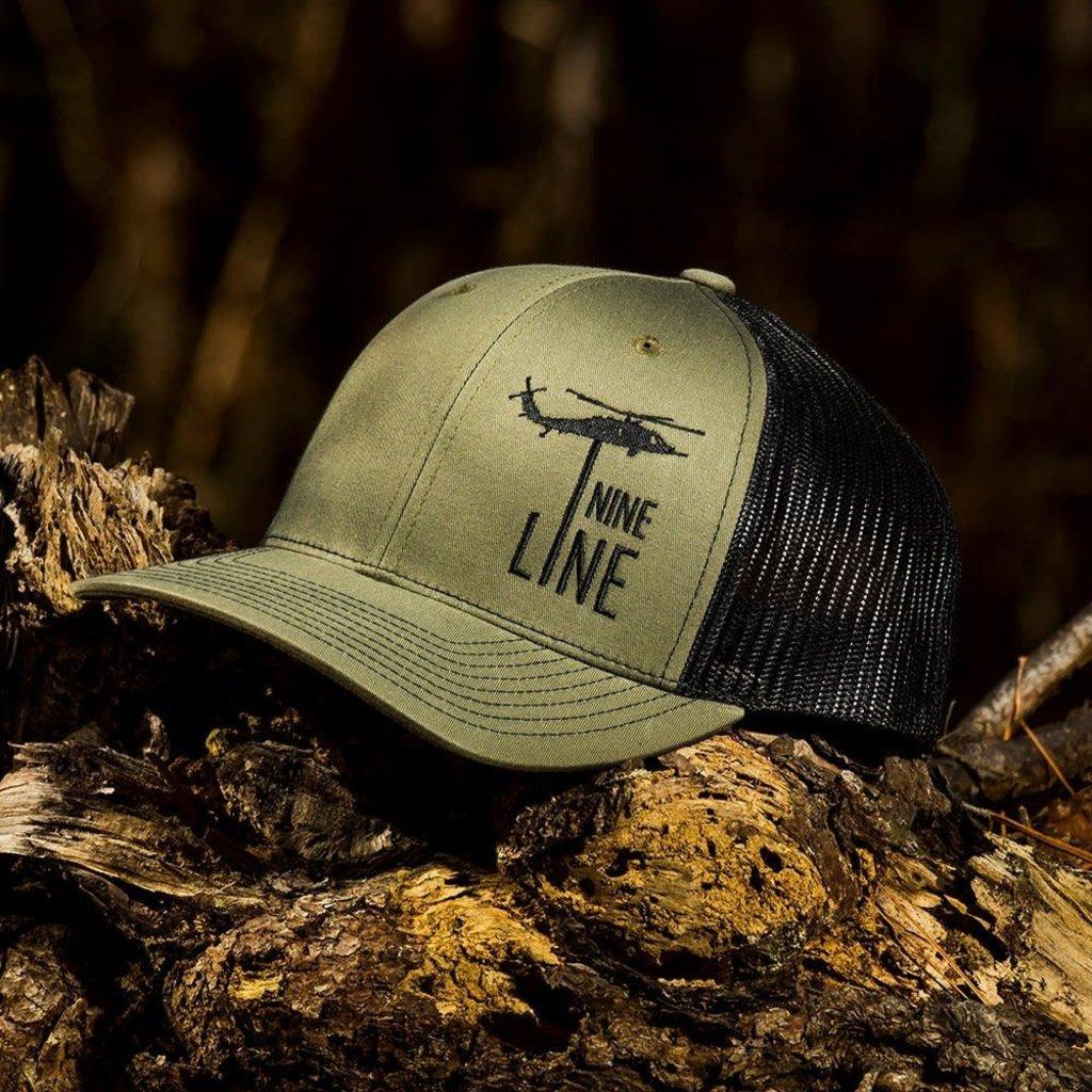NINE LINE Nine Line Dropline Snapback Hat - Olive