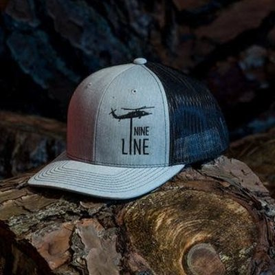 NINE LINE NINE LINE  Dropline Snap Back Hat - Grey