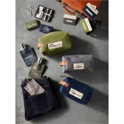 MUDPIE MudPie Printed Men's Grooming Kits