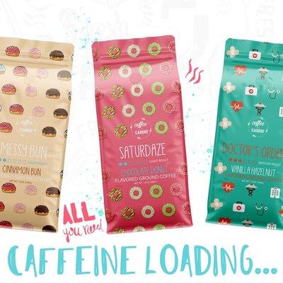 COFFEE & CARDIO Coffee Over Cardio Coffees & Creamers