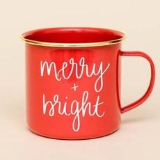 Sweet Water Decor Merry & Bright Campfire Coffee Mug