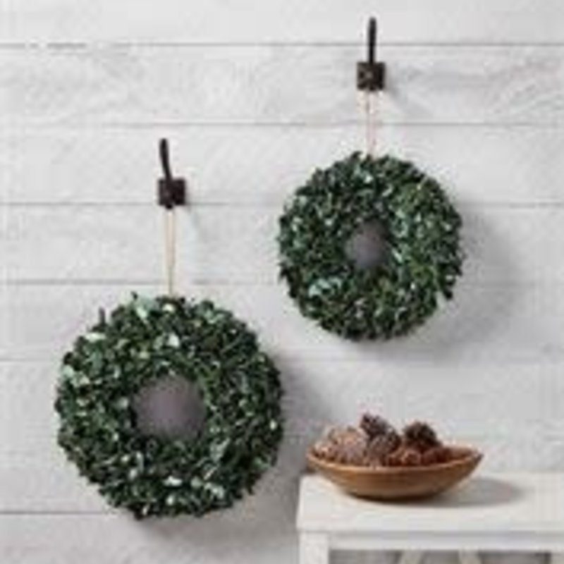 Mud Pie Mud Pie Preserved Boxwood Wreaths (2 Sizes)