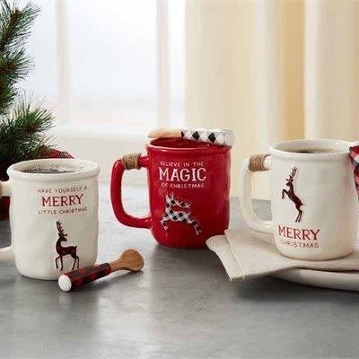 MUDPIE Mud Pie Christmas Mug Sets