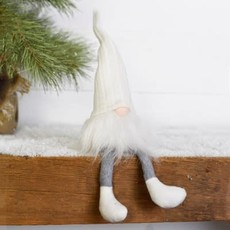 """Pd Home & Garden 15"""" White Hat Holiday Gnome"""