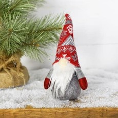 "Pd Home & Garden 8"" Winter Red Hat Gnome"
