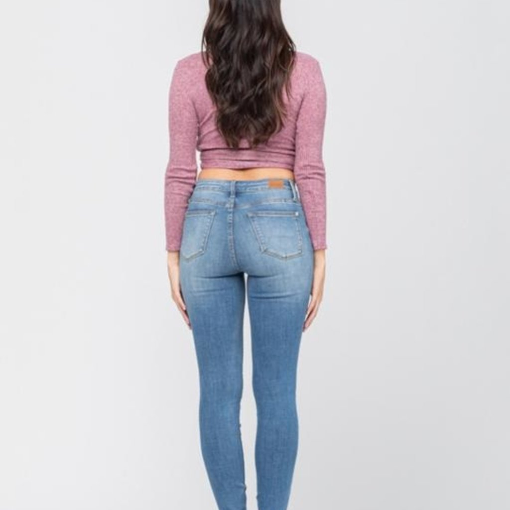 Judy Blue Judy Blue Non Distressed Ankle Skinnies