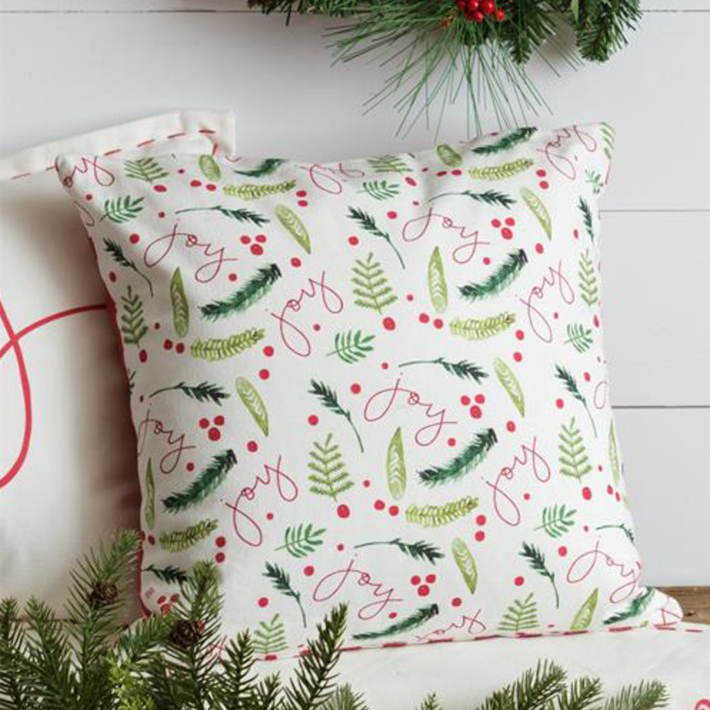 Audrey's Christmas Joy - Double Sided Pillow
