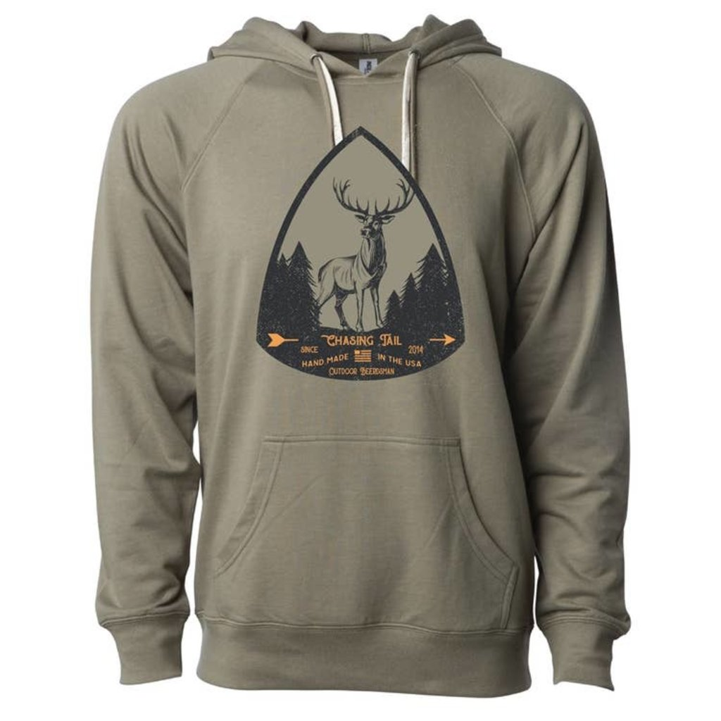 Outdoor Beerdsman Men's Chasing Tail Olive Hoodie (M-3XL)