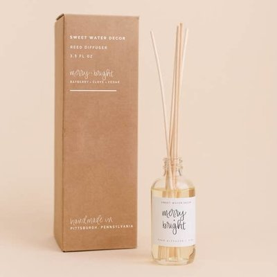 Sweet Water Decor Merry & Bright Reed Diffuser