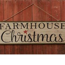 """Audrey's 10""""x32"""" Farmhouse Christmas Sign"""