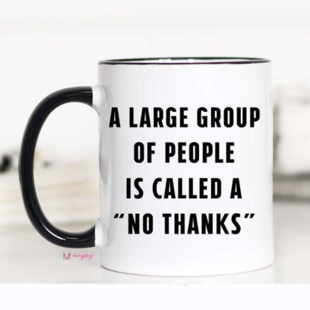 Mugsby Large Group of People Mug