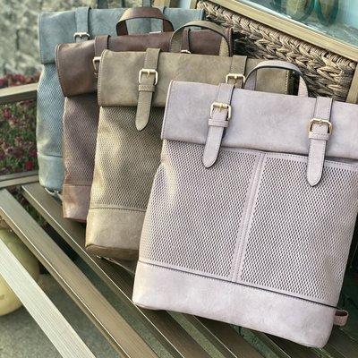 Bag Boutique Modern Satchel Backpack Bag (Coffee, Grey, Mauve, Stone)