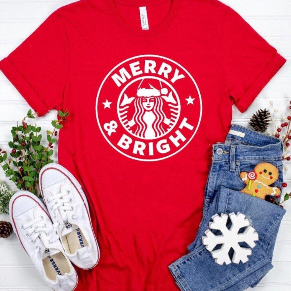 Merry & Bright Tee (M-3XL)