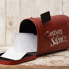 "Audrey's 12"" Letters to Santa Mailbox"