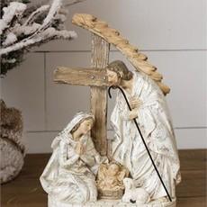 Audrey's Nativity Statue