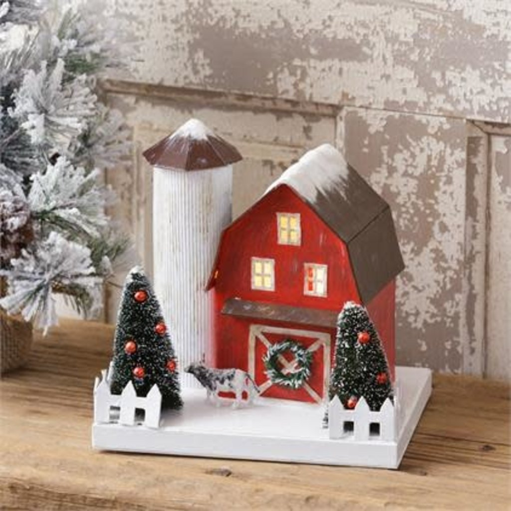Audrey's Small Decorative Christmas Barn