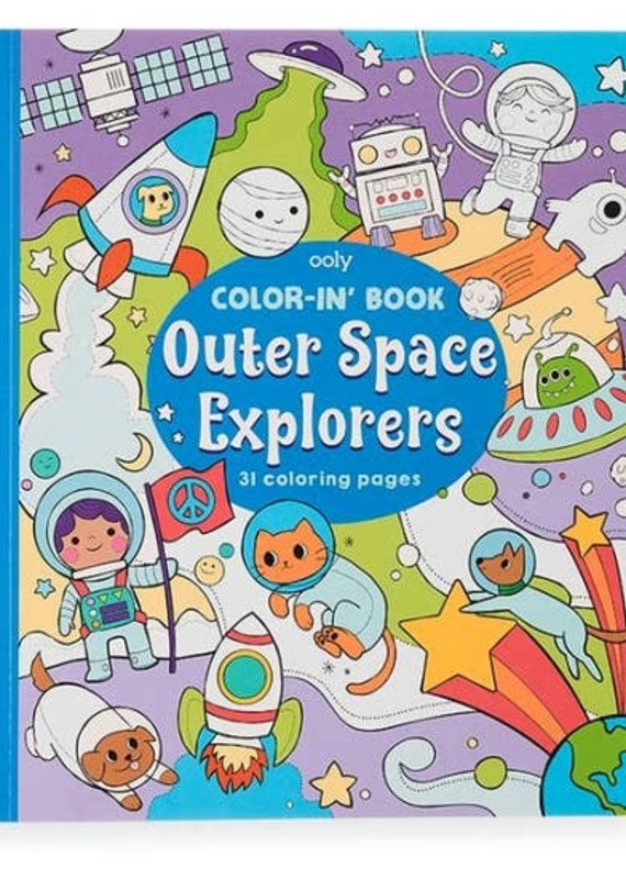 OOLY Color-in' Book (3 Options)