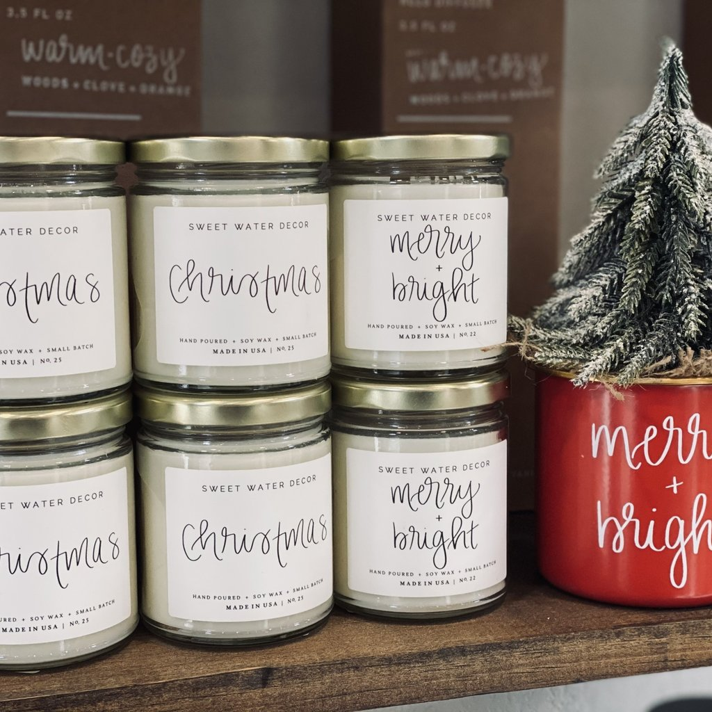 Sweet Water Decor Sweet Water Decor Holiday Candles