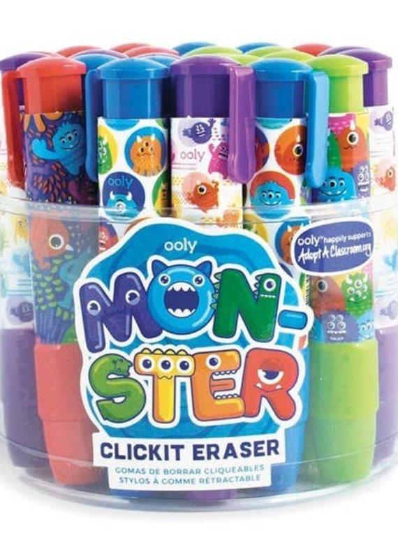 OOLY Monster Click It Eraser (4 Colors)