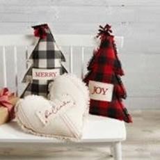 MUDPIE Mud Pie Christmas Believe Pillow