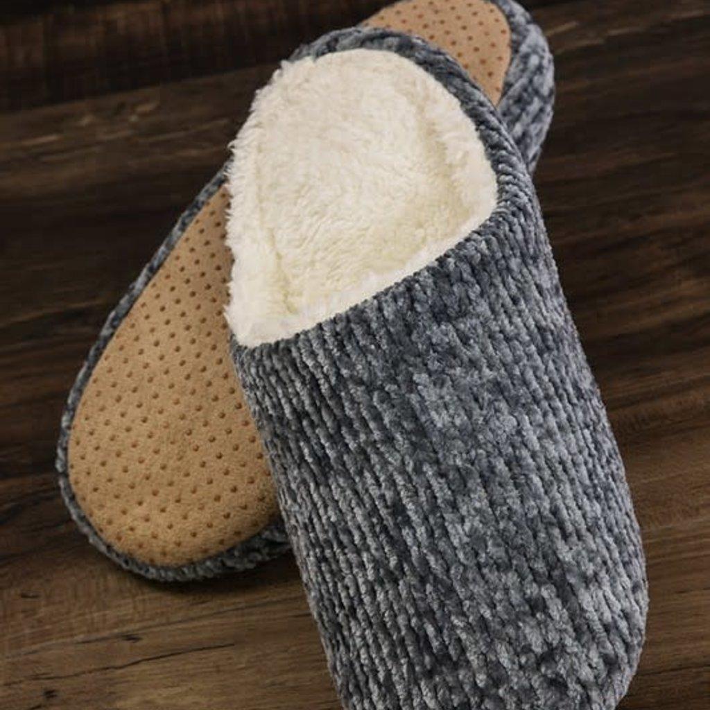 urbanista Gray Chenille Slippers