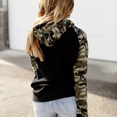 AMPERSAND AVE Army Vibes Doublehood - Ampersand Ave (S, M & 2XL)
