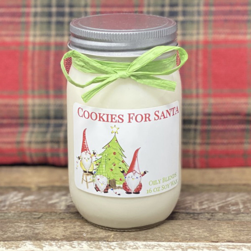 Oily Blends Oily Blends Christmas Candles 16oz